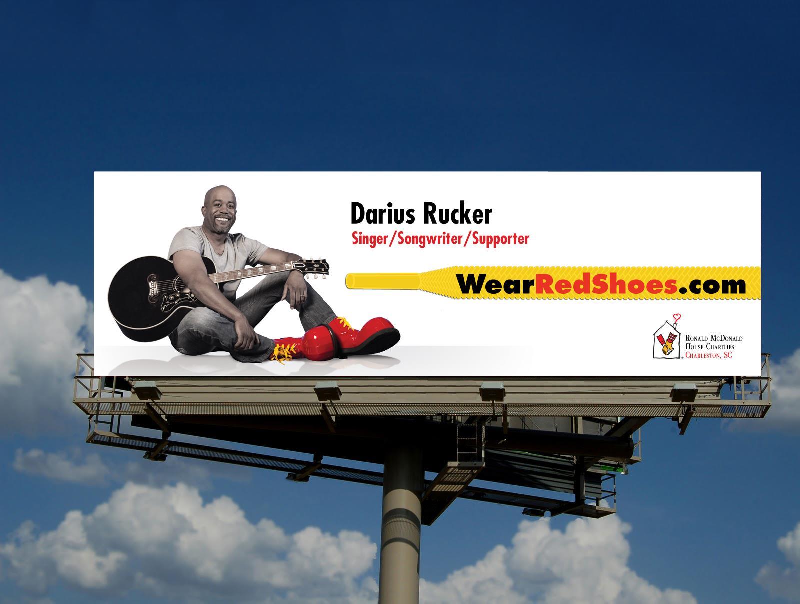 Darius Rucker Billboard on I-26